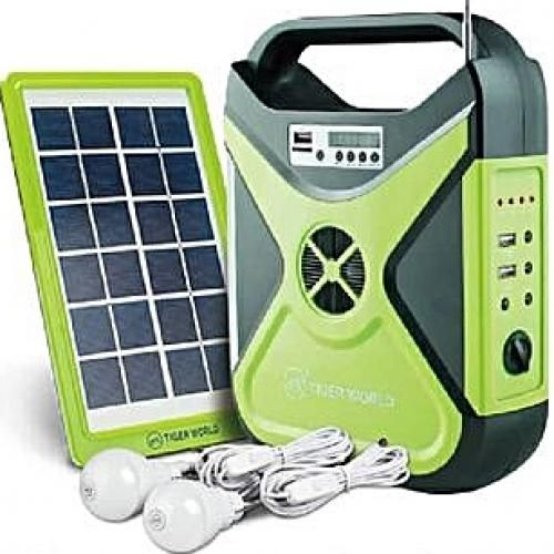 Solar Mobile Power With FM,RADIO & BLUETOOTH