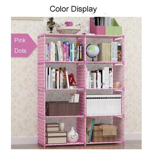 Kids Bookshelf/ Dormitory /office/Home Sundries Storage Cabinet