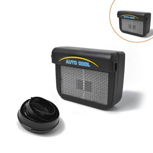 Solar Air Conditioner Power Home Eco-Friendly Mini For Car Easy To Install Air Vent Cool Fan Car Air Conditioner Ventilation