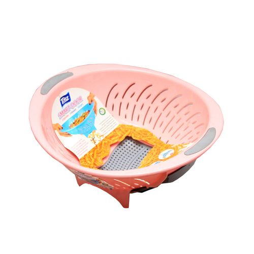 Smart Door Plastic Colander - Pink