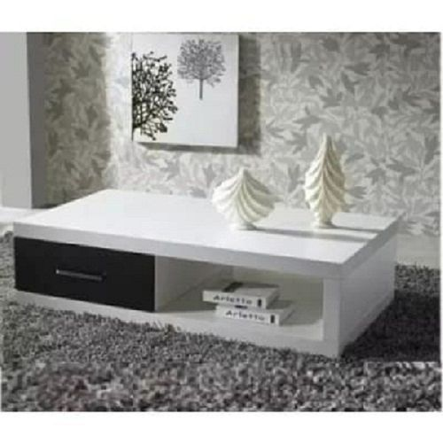 Allan Coffee Center Table - Off White & Black [within Lagos And Ogun Only]