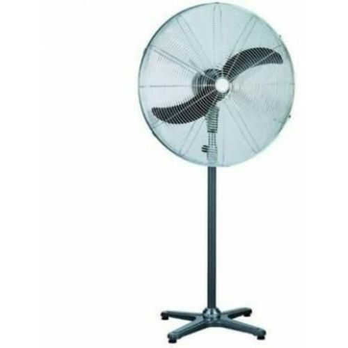 "Standing Fan Industrial 26"" Inches- Silver"