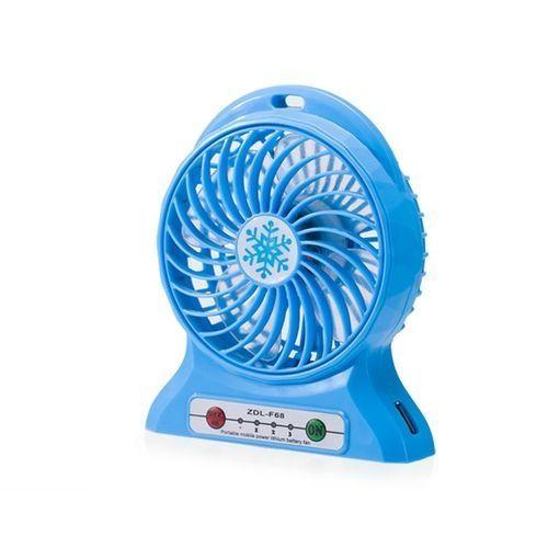 Portable Mini Usb Cooling Desk Top Fan-Blue