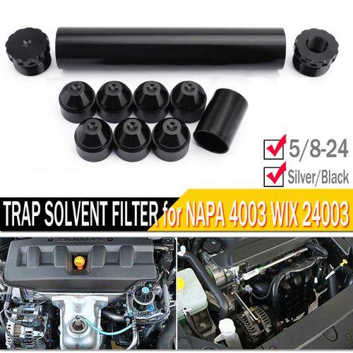11 Pcs Aluminum 5/8-24 Fuel Trap Solvent Filter For NAPA 4003 WIX 24003 Auto Filters 1x6