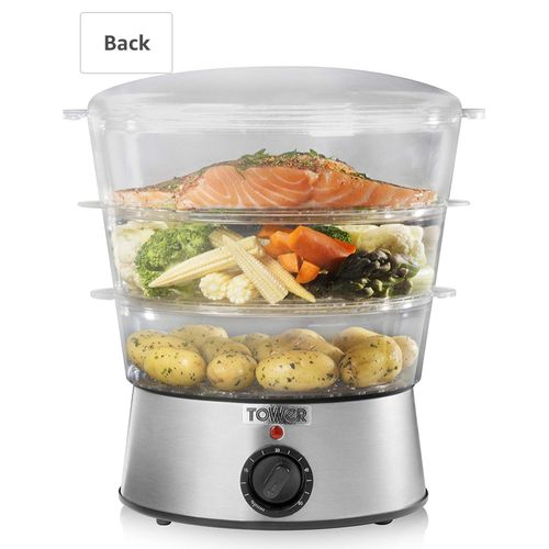 Three Tier Collapsible Steamer, 5L