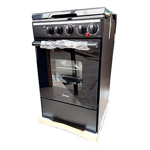 Gas Cooker - 3 Gas + 1 Electric Cooker 20BMG4Q007- Black