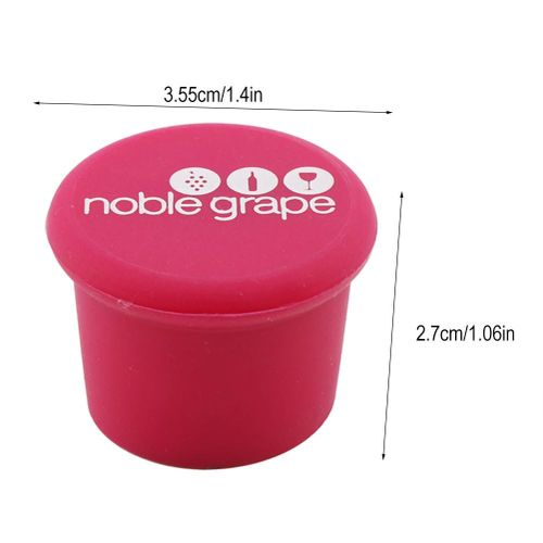 2 PCS Bottle Caps Red Wine Stopper Silicone Caps Food Grade Silicone Maintain The Taste Of The Drinks