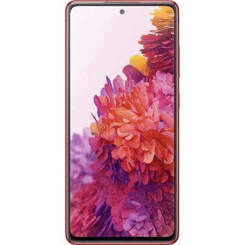 Galaxy S20 FE 6.5-Inch (6GB 128GB ROM) (12MP + 12MP + 8MP)+(32MP Front) Dual SIM 4G - Cloud Red