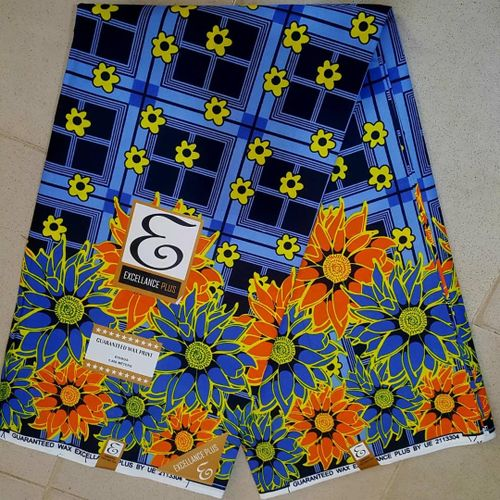 Ankara Small Wax Fabric Designed