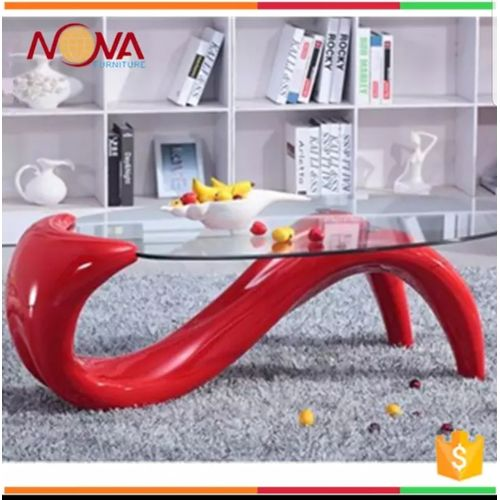 New Design Glass Coffee Table