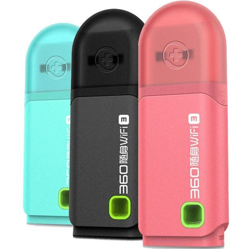 WiFi Hotspot 360 Portable Mini Pocket WiFi 3 Wireless Network Router Best Price 3 Colors Pink/Blue/Black Wi-Fi Router( )