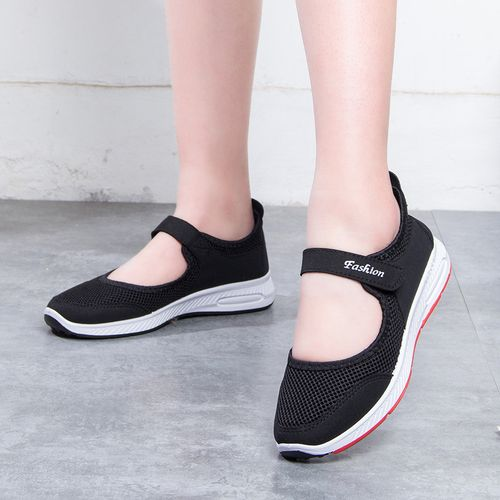 Women Sneakers Hollow Out Flats Backless Casual Shoes