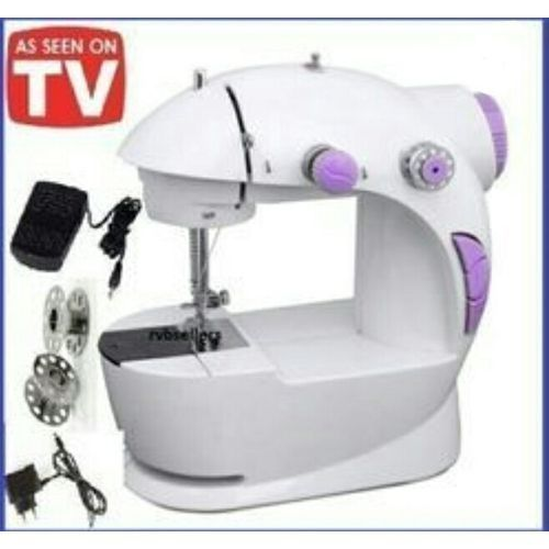 Mini Electric And Manual Sewing Machine With Pedal