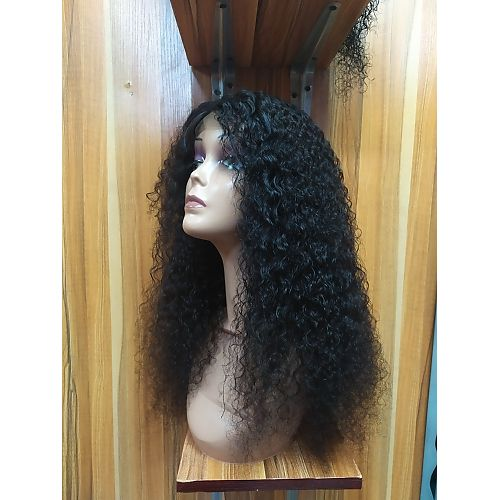 Jerry Curls Closure Wig With Free Wig Cap