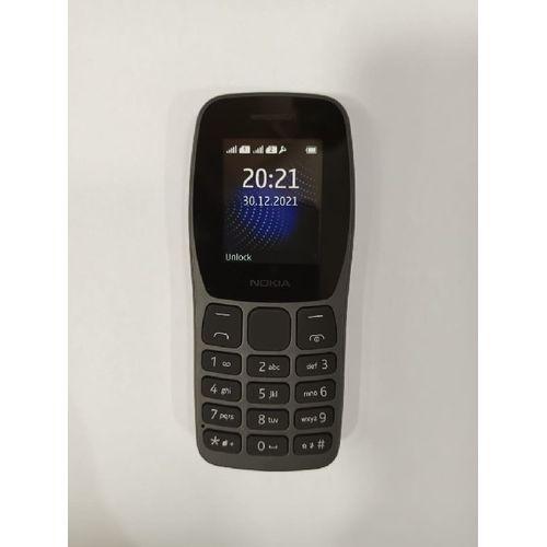 New Nokia 105 Dual SIM, FM Radio, Led TORCH - Black