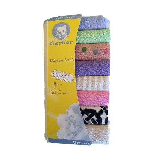 Baby Face/mouth Towels - Multicolour