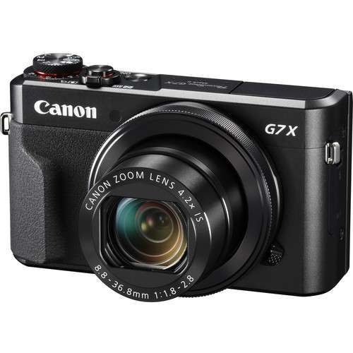PowerShot G7X Mark II 20.1MP 4.2x Optical Zoom Digital Camer