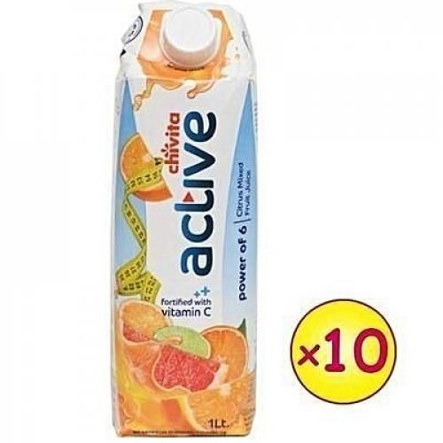 Active Power Of 6 Citrus Mixed Fruit Juice 1Ltr X 10Pcs