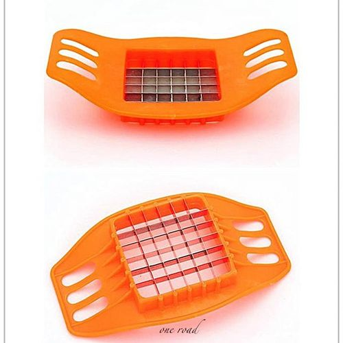 Stainless Steel Potato Cutter Square Slicer Potato Chips Cutter