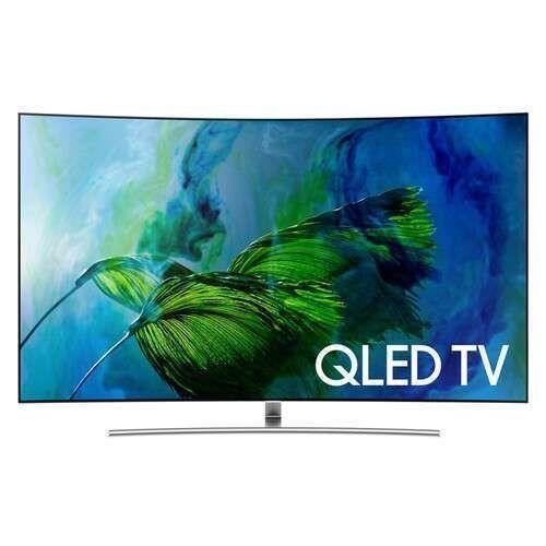 55 Inch Curved Q8C HDR+ Smart QLED UHD TV