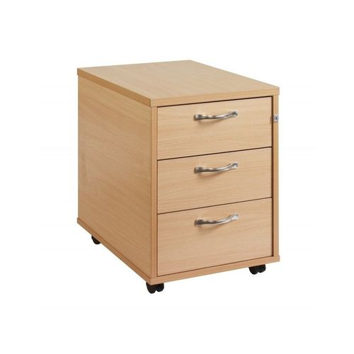 Three Layer Mobile Drawer - Beech Oak (Delivery Within Lagos Only)