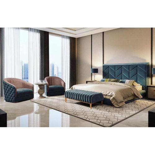 The Atlantis Bedroom Set With Legrest And Single Seaters