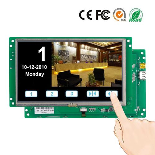 7.0 Inch Embedded TFT LCD Monitor Display