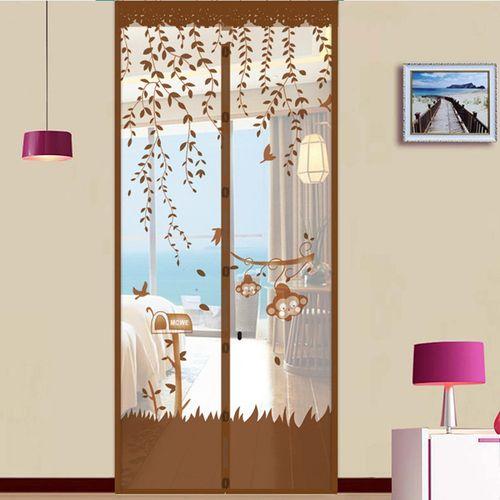 Summer Door Magnetic Bug Net Mesh Door Insect Snap Screen Fly Curtain Mosquito