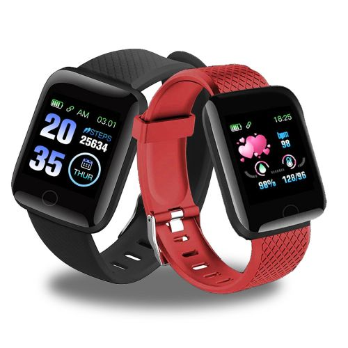Smart Watch Monitors Blood Pressure And Oxygen Heart Rate