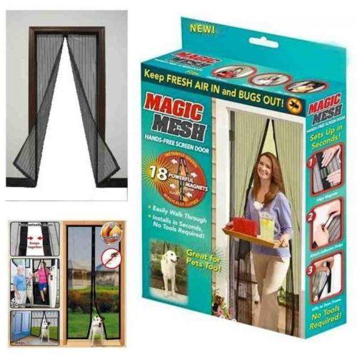 Anti-Mosquito Hands-Free Magic Mesh Door Curtain