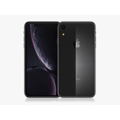IPhone XR (3GB RAM, 64GB ROM) IOS 12 (12MP+7MP) - Black - (nano-SIM)