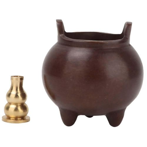 Incense Burner Buddhism Incense Holder Three Foot Incense Burner Household Indoor Incense Burner With Two-Ear