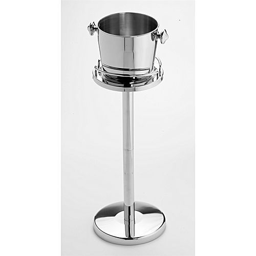 Champagne And Ice Bucket With Standing Stainkess Steel