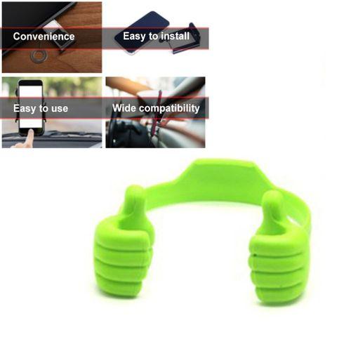 Lovely Cute Phone Holder Universal Car Desktop Stand Mount Thumb Hand