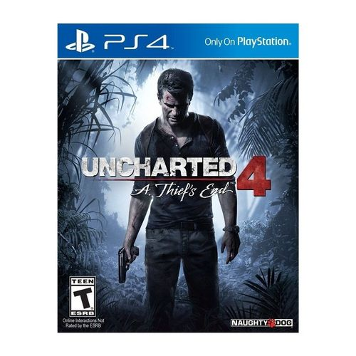 PS4 - Uncharted 4: A Thief's End - PlayStation 4