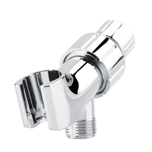 Chrome Plating 3-Way Shower Head Diverter Holder Shower Arm Mounted Bracket Bathroom Spray Holder Houder Douche