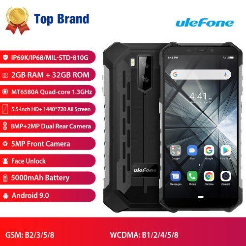 Armor X3 Android 9.0 5000mAh 2GB+32GB 3G Smartphone
