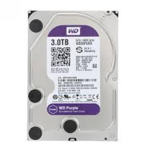 3TB Surveillance Harddrive 3.0 Speed Purple WD