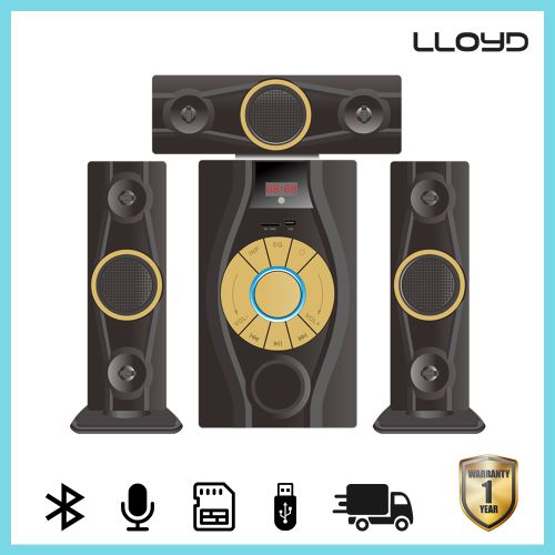 818 3.1 Blutooth Speaker D-Marc Home Theater Black