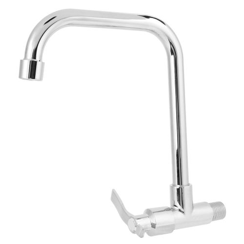 Household Modern G1 / 2in Single Handle Kitchen Sink Faucet Faucet Home Accessory Stainless Steel Tube