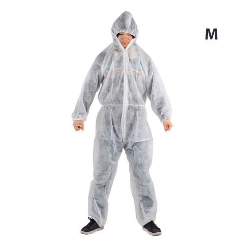 Protective Clothing Work Clothes Cheap Disposable Non-Woven White Lightweight Clean Worker