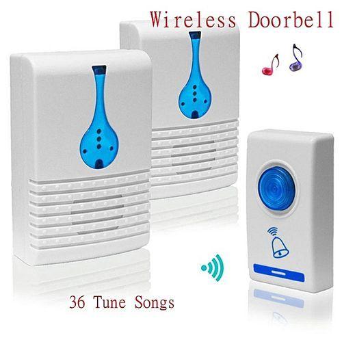 LED Wireless Chime Door Bell Doorbell