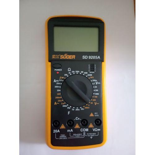 Digital Multimeter 9205
