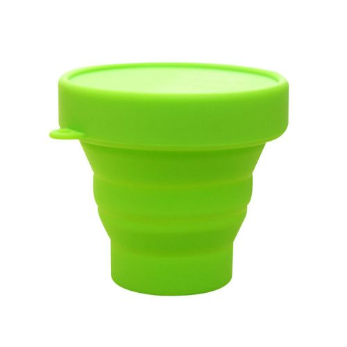 Silicone Collapsible Travel Cup For Outdoor Camping Hiking