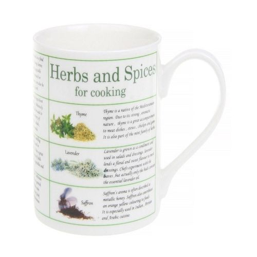 Herbes And Spices Fine China Mug
