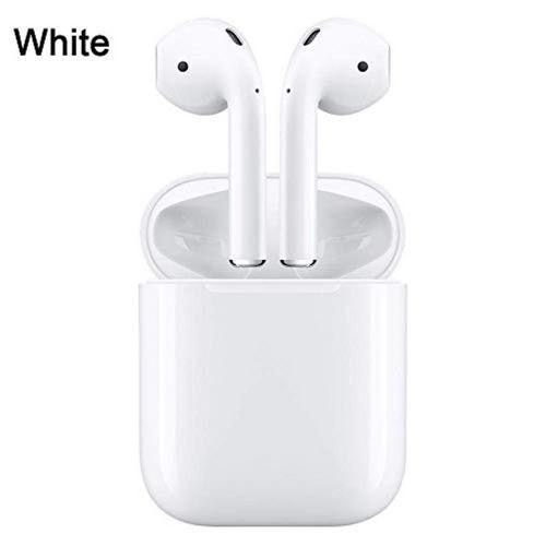 I12 Tws Wireless Bluetooth Stereo Headset In Ear Music Earbuds Set Earphone With Charging Box Mic Ear Pieces For Iphone Android LANG(#White)