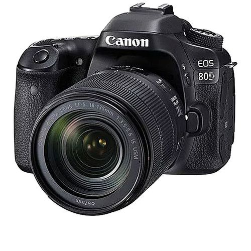 24Mp EOS 80D Digital Camera With 18-135mm Lens