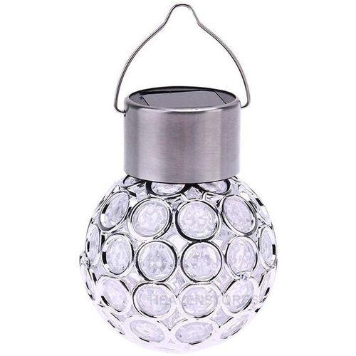 Solar Ball Garden Hanging LED Lamp Color Change Yard Light