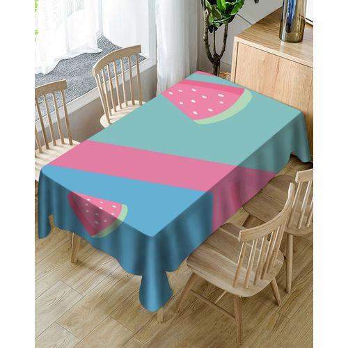 Cotton And Linen Table Fruit Cloth Dining Kitchen Table Cover Protector Decor