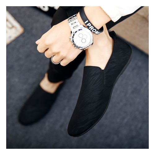 Men's Loafers Shoe -Black